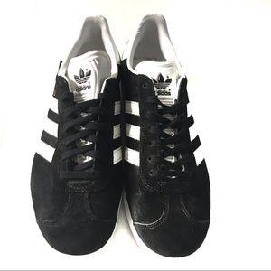 adidas Shoes - Adidas Black and White Gazelle Sneakers Men's 8